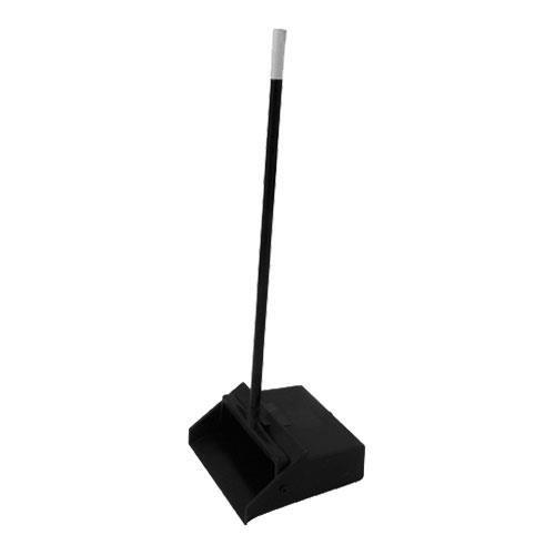 Carlisle 36141003 Duo-Pan 1-Piece Lobby Dust Pan with Metal Handle, 2.5 Foot Overall Height, - Steel Lobby Dust Pan