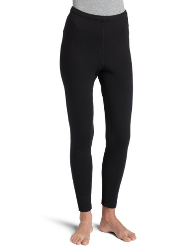 - Duofold Women's Expedition Weight Two-Layer Thermal Pants, Black, Large