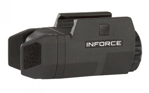 InForce APLc Compact WML Weapon Mounted White Light Auto Pistol 200 Lumens Black AC-05-1 (Not Glock) (Std Light)