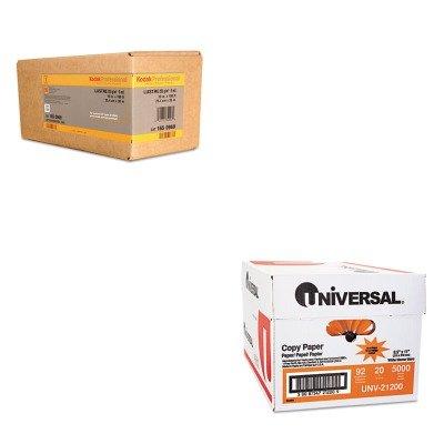 KITBMGKPRO10LUNV21200 - Value Kit - Kodak Professional Inkjet Photo Paper Roll (BMGKPRO10L) and Universal Copy Paper (UNV21200) by Kodak