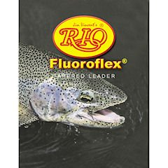 Rio Fly Fishing Trout 9' 5X Fishing Leaders Fishing Line, Clear