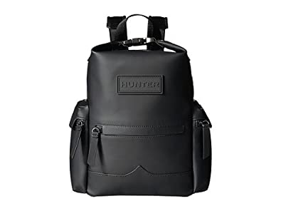 61a5bbb5df6e (ハンター) HUNTER リュック・バックパック Original Mini Top Clip Backpack Rubberised  Leather Black