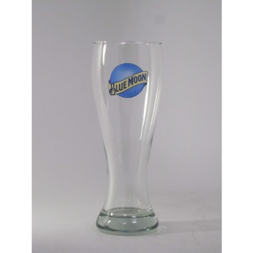 Blue Moon XL 23 Oz Wheat Beer Glass | Set of 2 Bar Edition Glasses