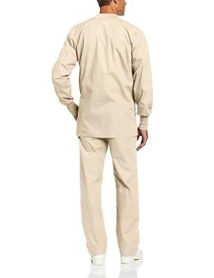 Landau Men's Warm Up Scrub Jacket