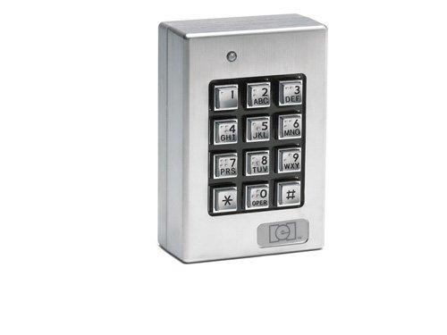 Linear 212SE Weatherproof Keypad (Silver)