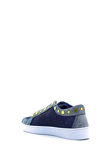GUESS Gisela, Zapatillas de Tenis para Mujer Azul