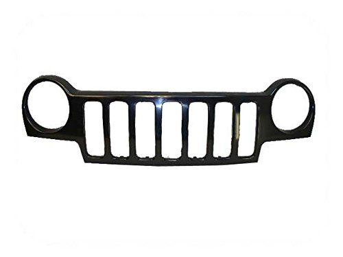 02-04 Jeep Liberty Grille Material Black CH1200232