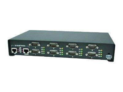 Comtrol 99465-7 DeviceMaster Serial Hub - Terminal server - 8 ports - 10Mb LAN, 100Mb LAN, RS-232