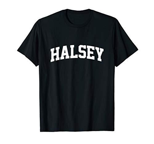 Halsey Vintage Retro Sports Team College Gym Arch ()