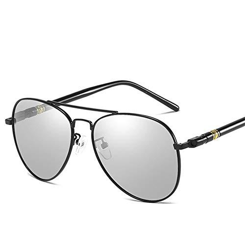 retro sol NIFG de de noche día Gafas color doble y de polarizadas sol B Gafas de de qUx7qpHS