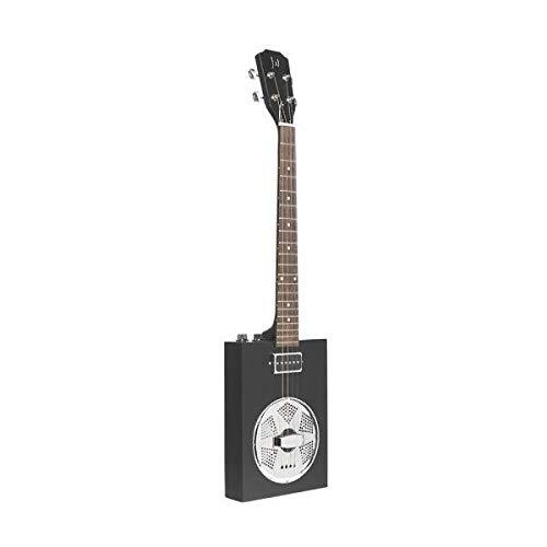 James Neligan CASK-PUNCHCOAL Acoustic Electric Resonator Cigar Box Guitar