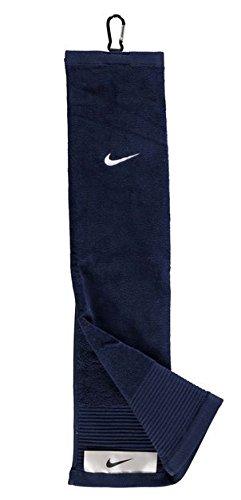 Nike Tri Fold FC Toalla de Golf, Hombre, Azul (Midnight Navy/White), Talla Única: Amazon.es: Deportes y aire libre