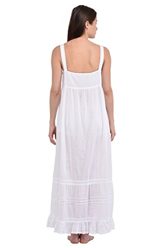 cotone Plus Size P200 Camicia WT da Reproduction Cotton in Vintage notte Lane bianco wCqxzXA