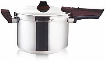 Buffalo Stainless Steel Pressure Cooker Rouge series 3-Quart