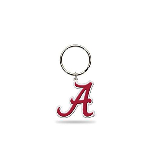 Rico Industries NCAA Alabama Crimson Tide Flexible Team Logo Keychain