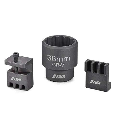 EWK 36mm 3/4 Inch Flywheel Locking Holder Water Pump Holding Tool 12 Pt Socket for Duramax 6.6L Engine