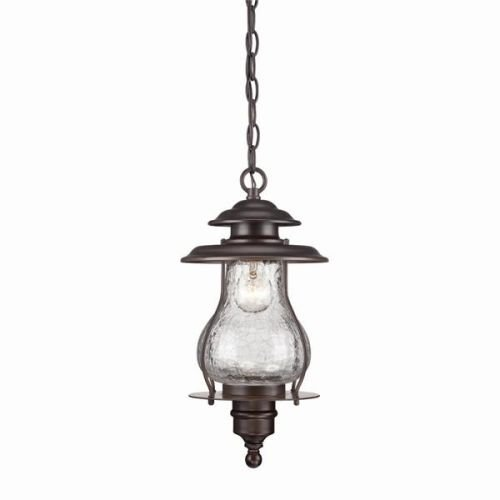 Acclaim 8206ABZ Blue Ridge Collection 1-Light Outdoor Light Fixture Hanging Lantern, Architectural Bronze by Acclaim