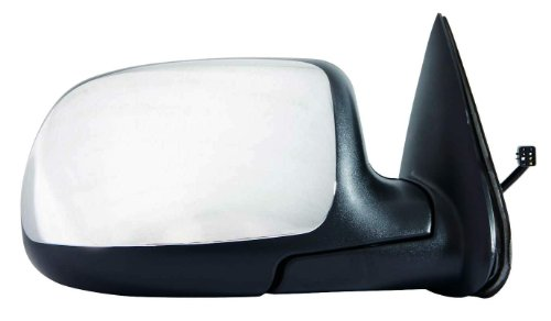 Depo 335-5401R3EC Chrome Passenger Side Power Non-Heated Mirror