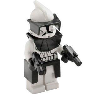 Lego Star Wars Mini Figure - Clone Wars - Clone Commander & Blasters