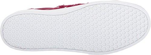 Sam Leverman Dames Levine Sneaker Cranberry Glanzende Zijde Satijn