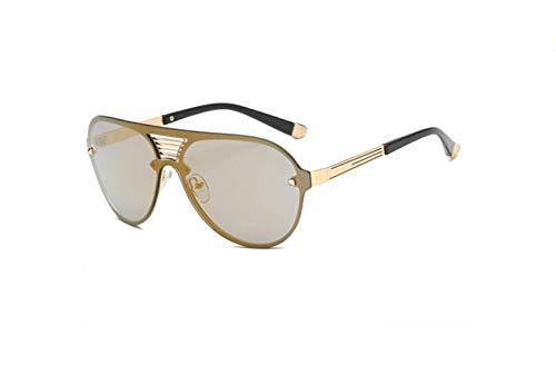 Grande Moda Gafas conducción rivestiti Espejo Viento liwenjun Gafas Personalità Marco Sol d de Mercurio Parabrisas Oro Conducir de Cool Colores Colores BZdd8wWq