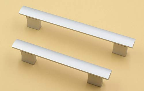 Decorative Hardware Kitchen Solid Aluminum Cabinet Drawer Fashion Pane Pull Handle (C.C.:288mm L:319mm)