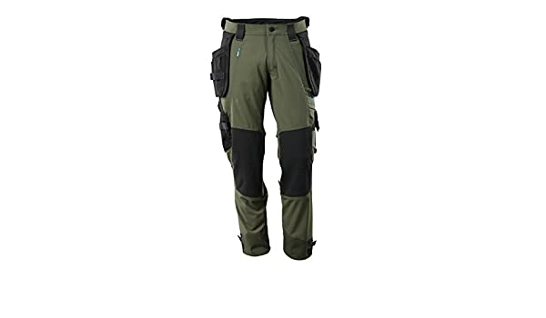 Moss Green Mascot 17031-311-33-90C48 Trousers Safety Pants 90C48
