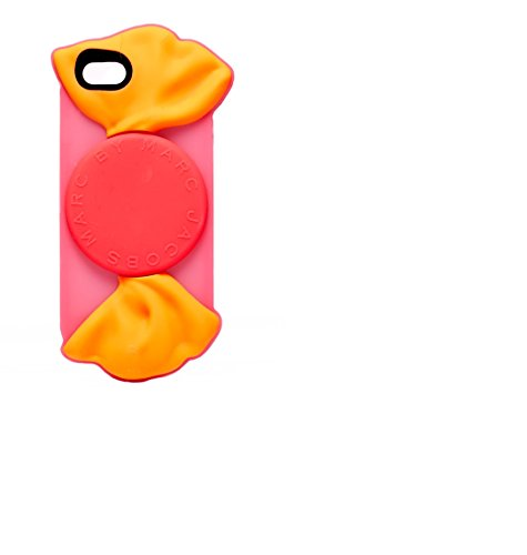 Marc by Marc Jacobs Cell Phone Case for Apple iPhone 6 - Retail Packaging - Shocking Pink/Multi