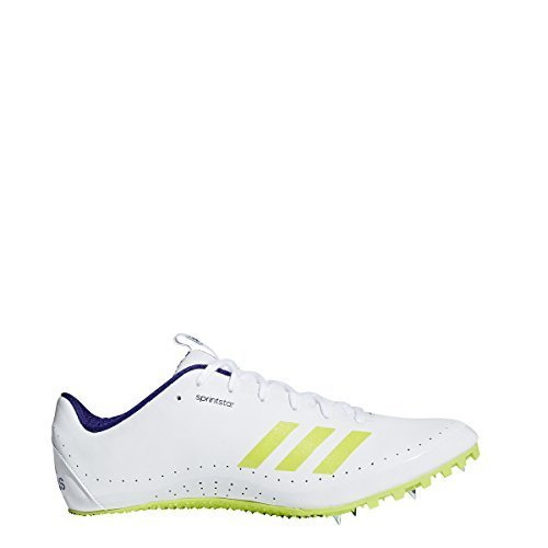 adidas Running Unisex Sprintstar Footwear White/Crystal White/Real Purple 12 M US