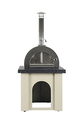 NXR P80-04 SS Dome and Base Pizza Oven Set