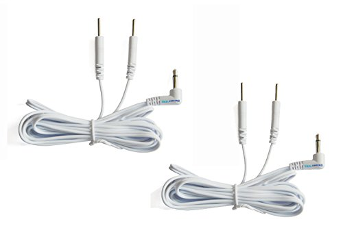 Tens Lead Wires, 3.5mm Plug to 2 2mm Pin Connectors (2), Discount Tens ()