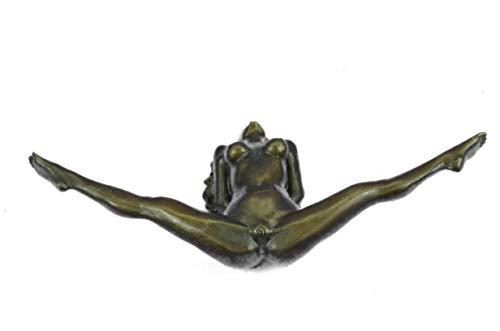 Nice Looking Original Sexy Erotic Art Decor Exposed Nude Girl Bronze Sculpture - Bronze Figure Sculpture