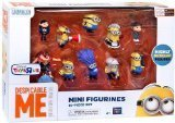 Despicable Me Mini Figurines 10 Piece Set (20013)]()