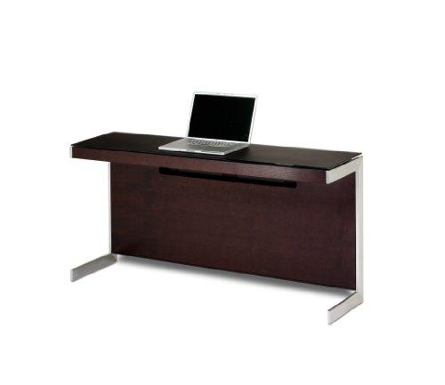 Modular Desk Return Office - BDI Sequel Return 6002 - Espresso Stained Oak
