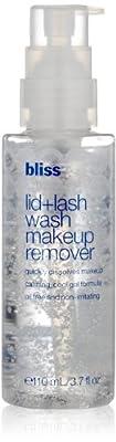 Lid + Lash Wash Makeup Remover Bliss Makeup Remover Women 3.7 oz