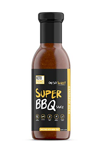 Oh So Sweet Super BBQ Sauce (KETO, Sugar Free, Low Carb, Diabetic and Paleo friendly, All Natural, Gluten Free, Non GMO)