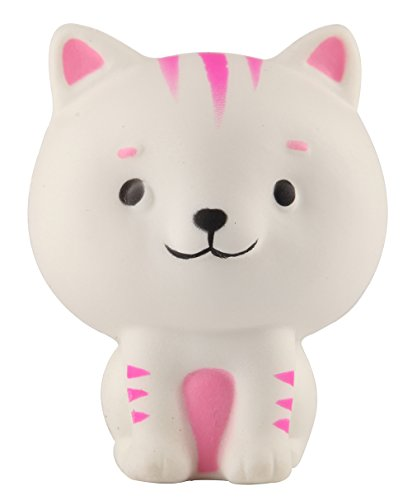 "Price comparison product image Anboor 3.5"" Squishies Slow Rising Kawaii Squishies Scented Soft Little Cat Toy for Kids or Stress Relief"