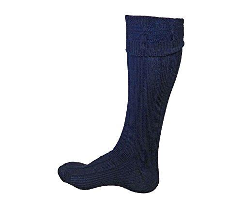 Scottish Kilt Hose - UT Kilts (USA Men's Shoe Size 7-9.5, Dark ()