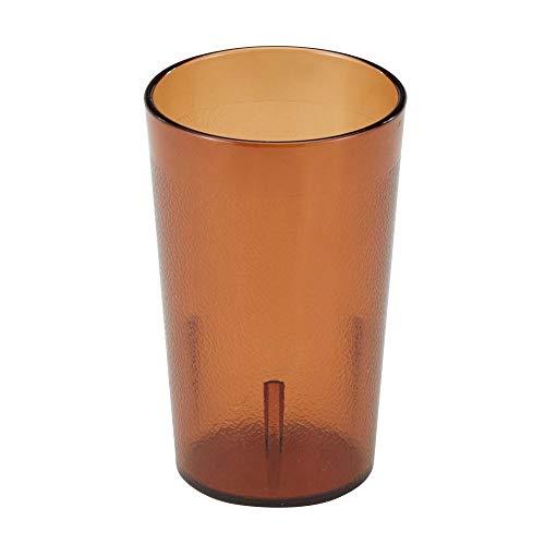 - Cambro 950P153 Colorware Amber 9.8 Oz. Tumbler - Dozen
