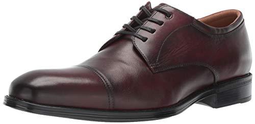 Shoes Burgundy Oxfords (Florsheim Men's Allis Comfortech Cap Toe Oxford Dress Shoe, Burgundy 10 M US)