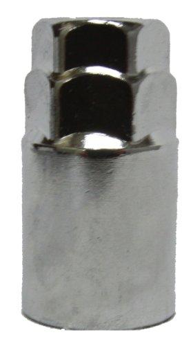 Set of 20 Muteki 32905S SR48 Series Silver 12mm x 1.25 Thread Size Open End Lug Nut,