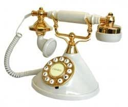 Mybelle Novelty/Decor Telephones, 383 Cherie by Mybelle