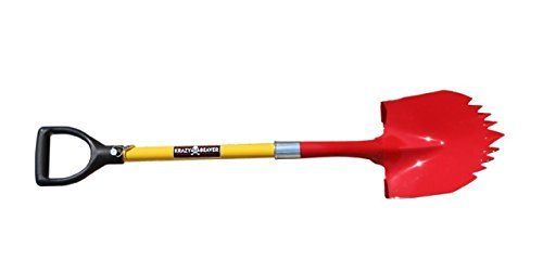 Super-Shovel-by-Krazy-Beaver-Heavy-Duty-Spiked-Shovel-Tempered-Steel-American-Made