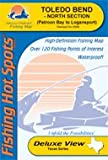 Toledo Bend - North Section Fishing Map (A437)