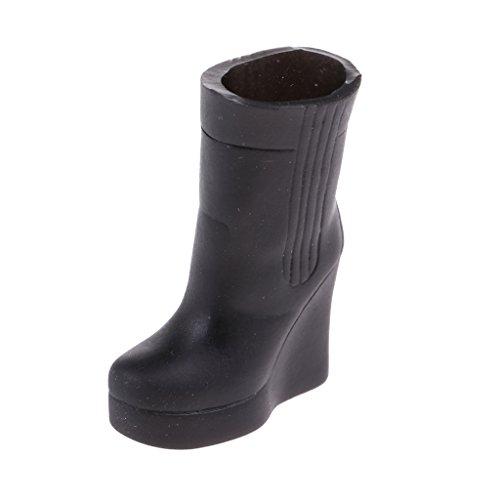 Accessori Miniature Rosa Per Moda Scarpe Magideal Calzatura Nero Shoes Calzini Stivali Bambola Boots 8wgw0ZTq