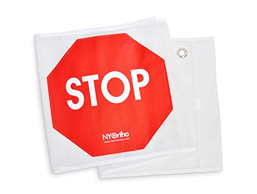 NYOrtho Door Guard Stop Sign Banner   Stop Sign Strip   Size: 53