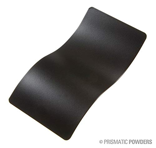 Black Jack Flat Black Powder Coat Paint (1 LB) Prismatic Powders USS-1522