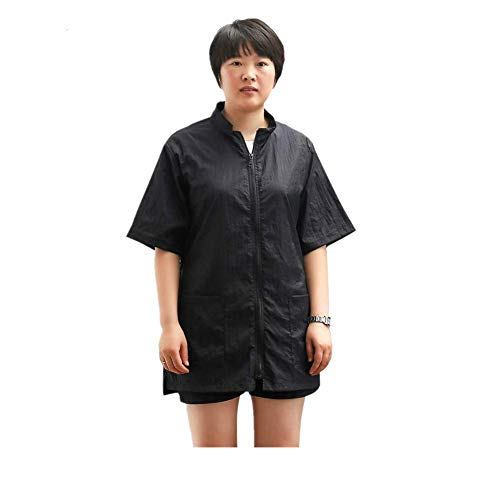 myonly Dog Pet Grooming Smock Nylon Barber Apron Work Clothes for Women(XL)