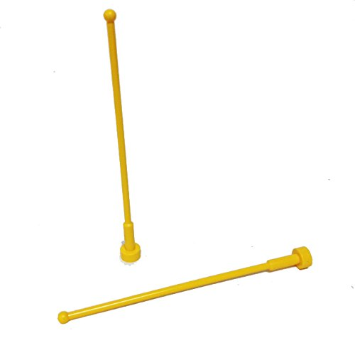 Lego Parts: Antenna Whip 8H (PACK of 2 - (1999 Naboo Starfighter)