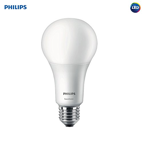 1 Two Bulb (Philips LED 3-Way A21 Frosted Light Bulb: 2200-1600-620-Lumen, 2700-Kelvin, 22-16-8-Watt (150-100-50-Watt Equivalent), E26 Base, Soft White, 1-Pack)